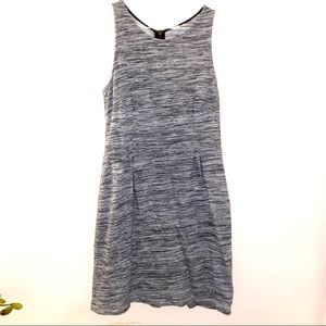 Old navy large L sleeveless heathered knit dress